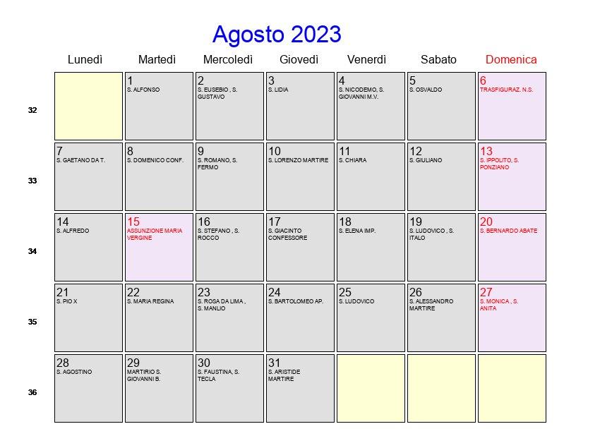 Calendario da Tavolo 2015 in PDF da Stampare Gratis
